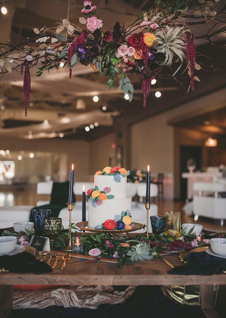 floral chandelier inspiration91