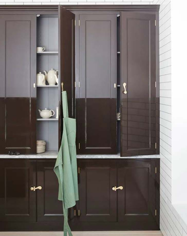 high lacquer cupboards