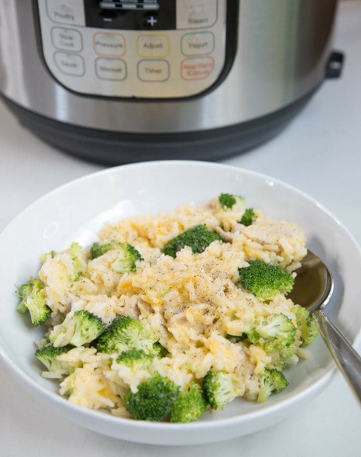instant pot chicken broccoli recipe
