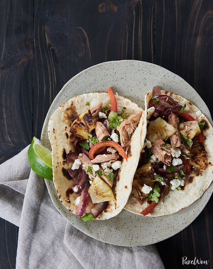 jackfruit tacos with grilled pineapple recipe
