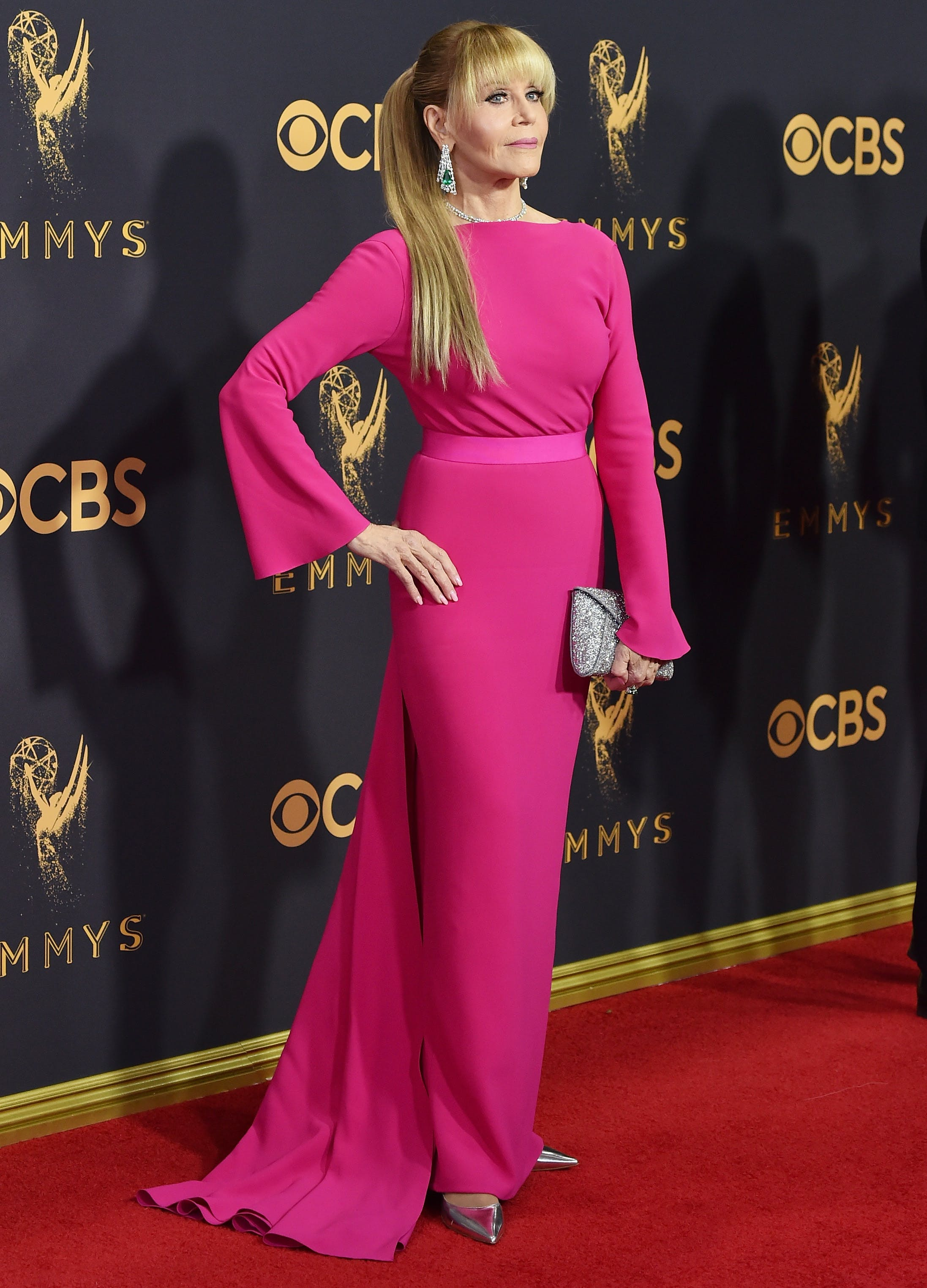 jane fonda at the 2017 emmys