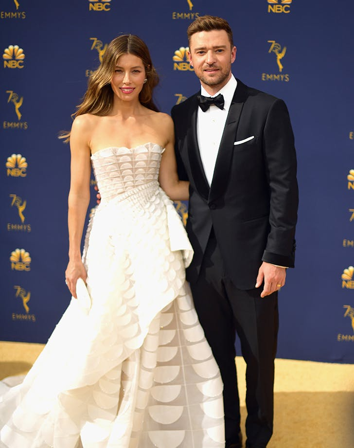 Justin Timberlake Has *Big* Plans if His Wife Jessica Biel Wins at the 2018 Emmy Awards