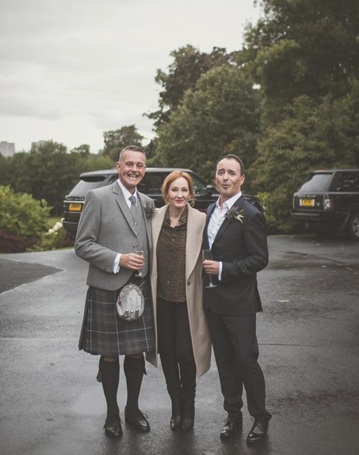 jk rowling matt fothergill wedding 3