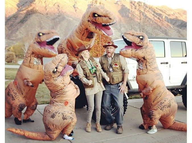 jurassic park family costume