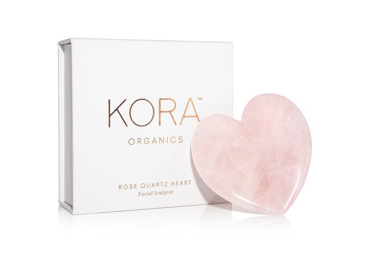kora organics rose quartz facial sculptor