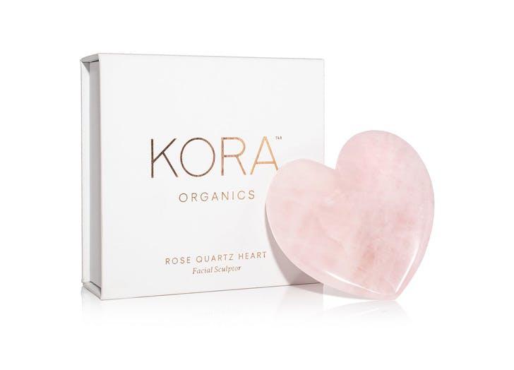 kora organics rose quartz facial sculptor