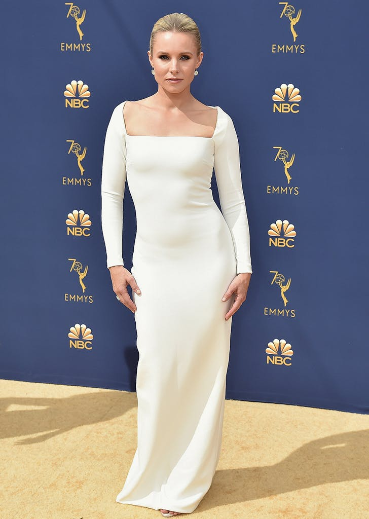 kristin bell at the 2018 emmys