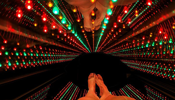 led light therapy review feet
