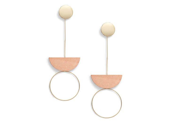 leith geometric earrings