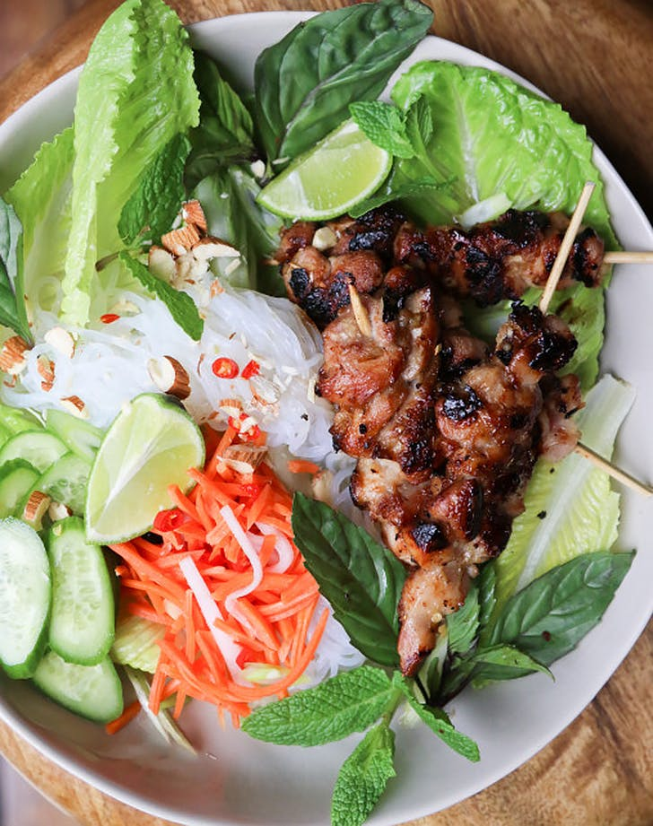 lemongrass chicken bowls recipe