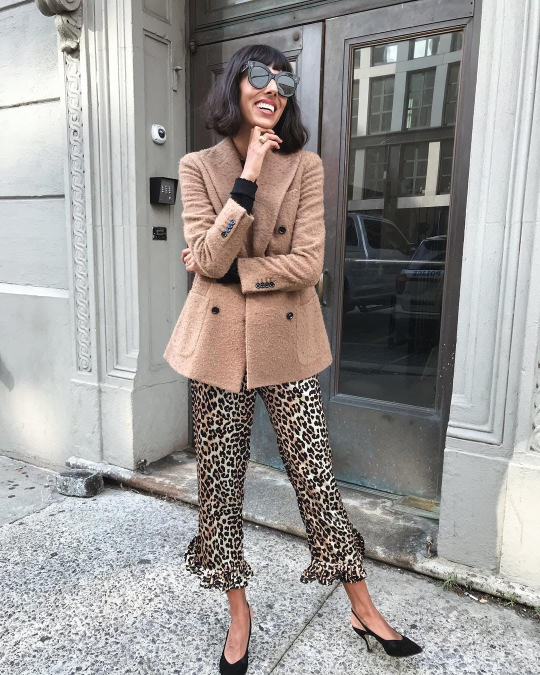 leopard print   babba canales