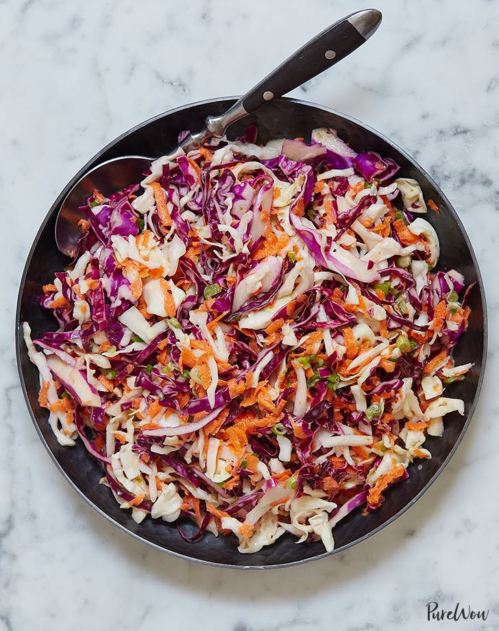 light and tangy coleslaw recipe