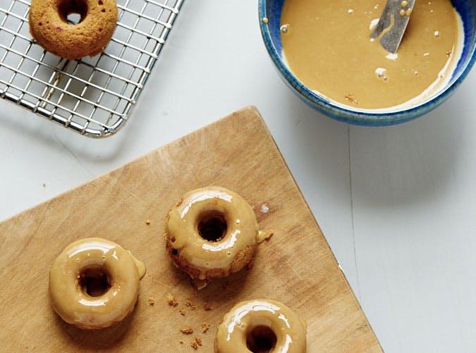 maple spice doughnuts