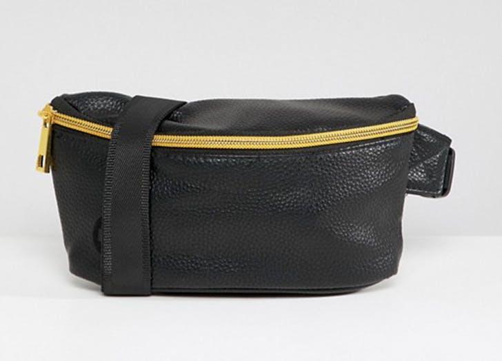 mi pac black fanny pack