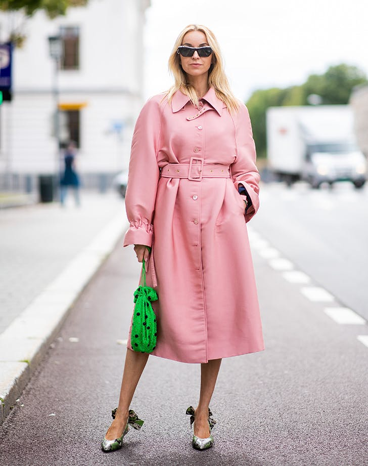 milennial pink outfit
