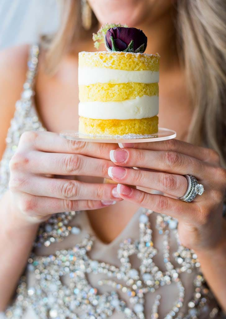 mini cake Wedding trend 728