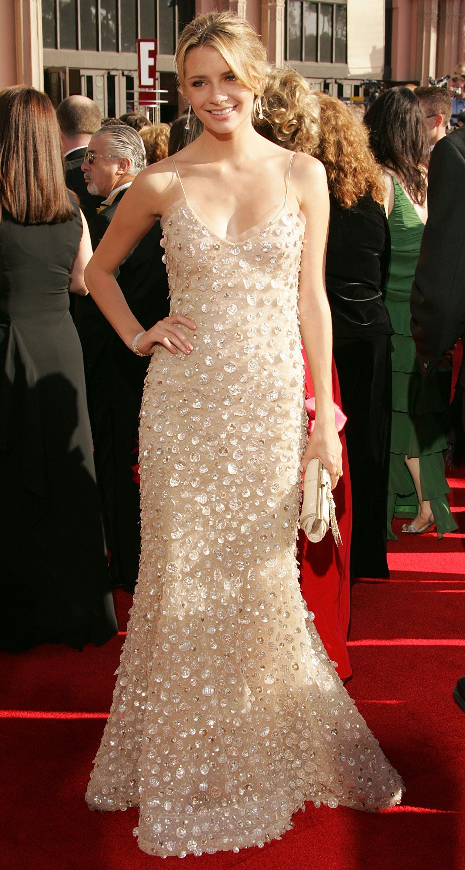 mischa barton at the 2005 emmys