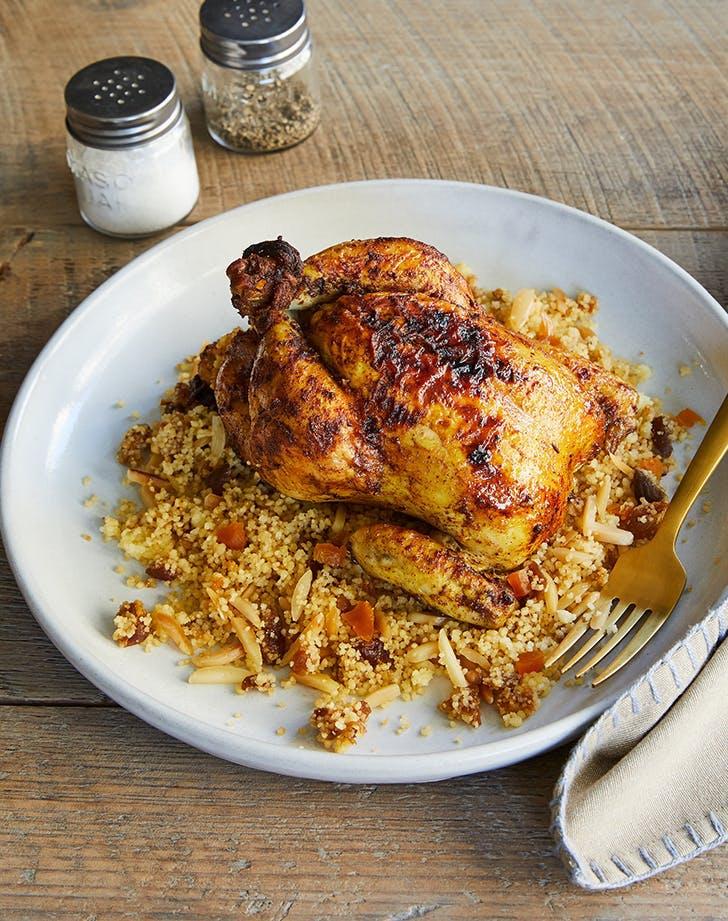 morroccan couscous cornish hens recipe