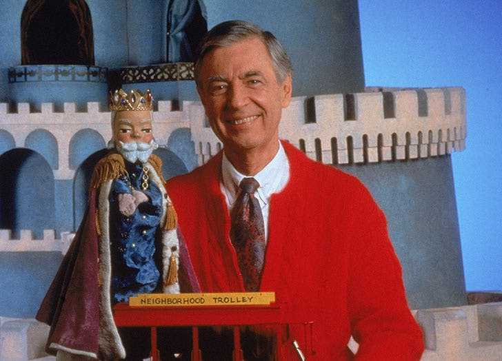 mr rogers and puppet