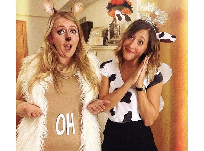 oh deer holy cow costumes