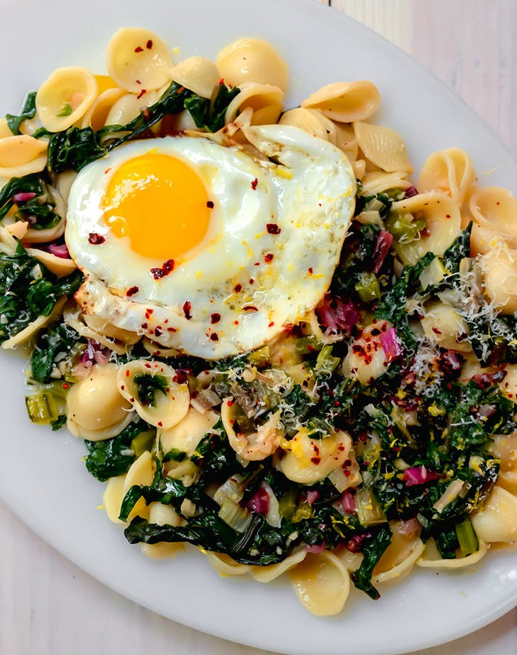 orecchiette swiss chard parmesan recipe1