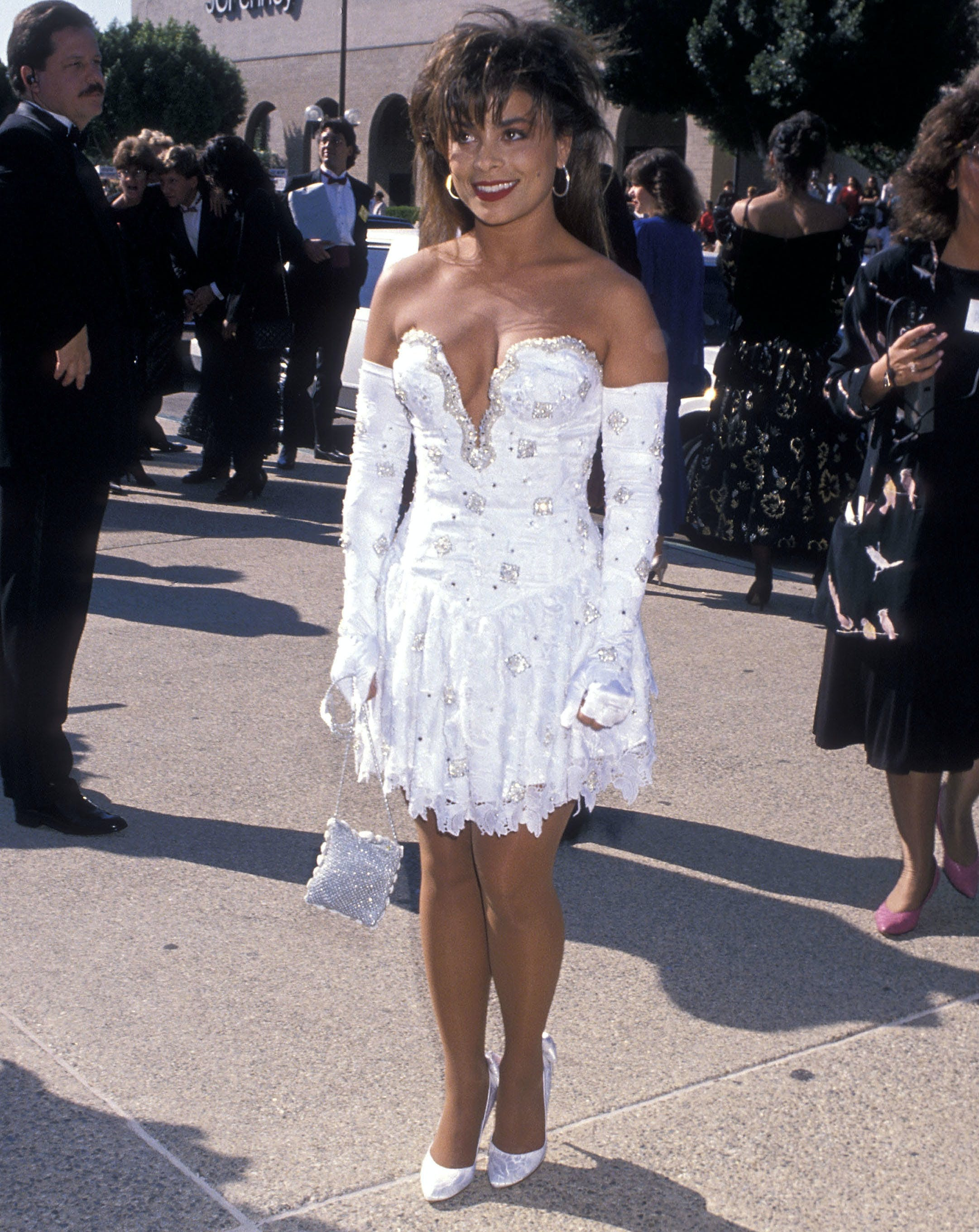paula abdul at the 1989 emmys