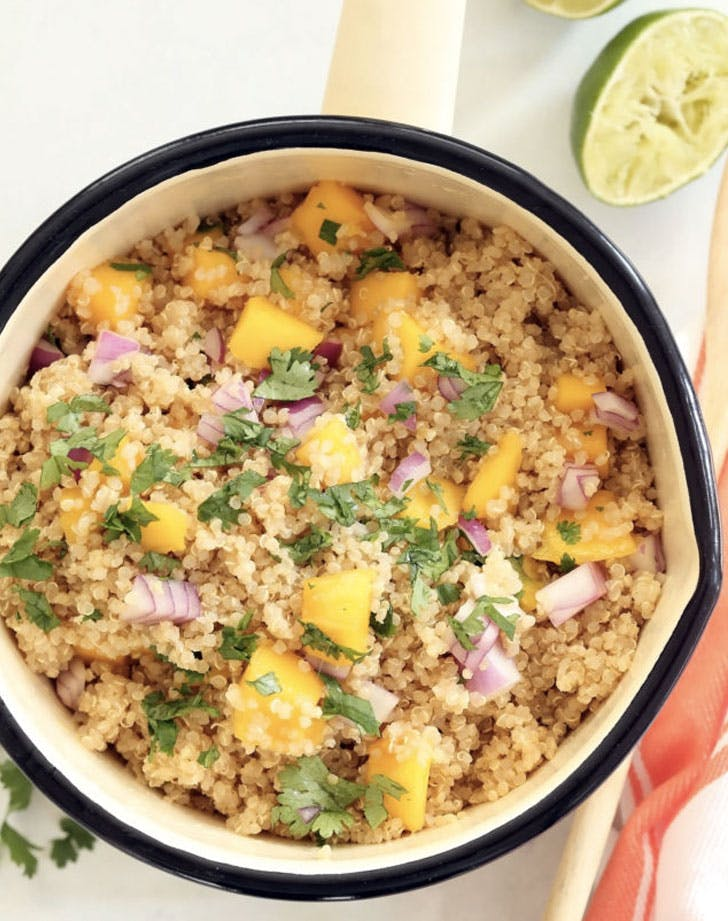 pineapple coconut quinoa recipe
