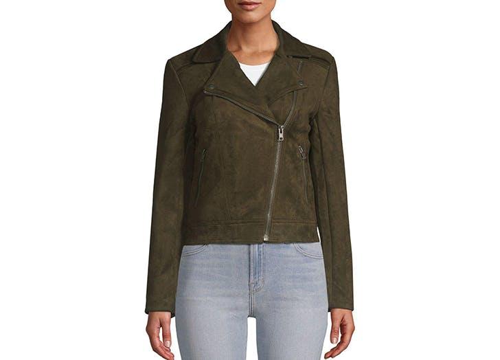 premise studio faux suede jacket