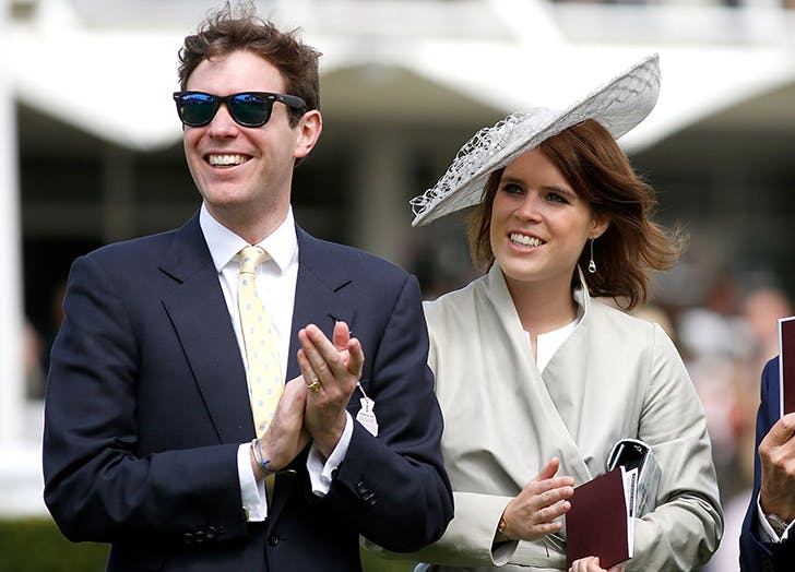 princess eugenie and jack brooksbank big hat