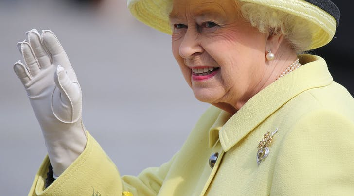 Queen Elizabeth Has a Hand-Waving Machine, Because of Course She Does