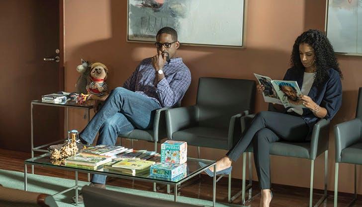 randall beth waiting room this is us season 3