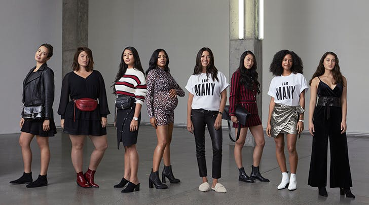 This Fashion Designers 'I Am Many Campaign Is Bringing Women Together to Support One Another