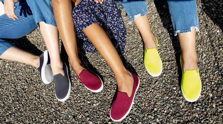We Keep Getting Compliments When We Wear These Recycled-Plastic Sneakers