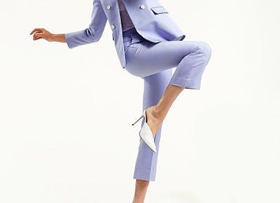 sandro lavender pants 400