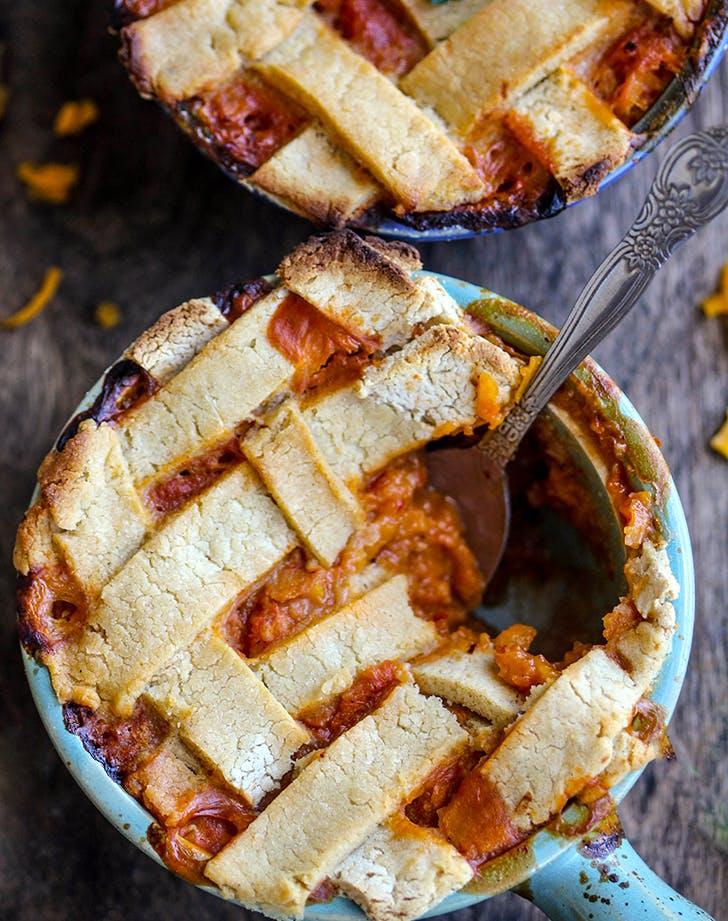 shredded butternut squash potpies recipe1