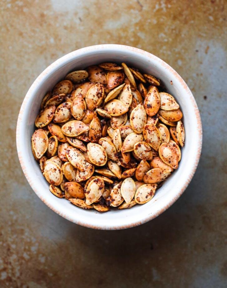 spiced winter squash seeds recipe1