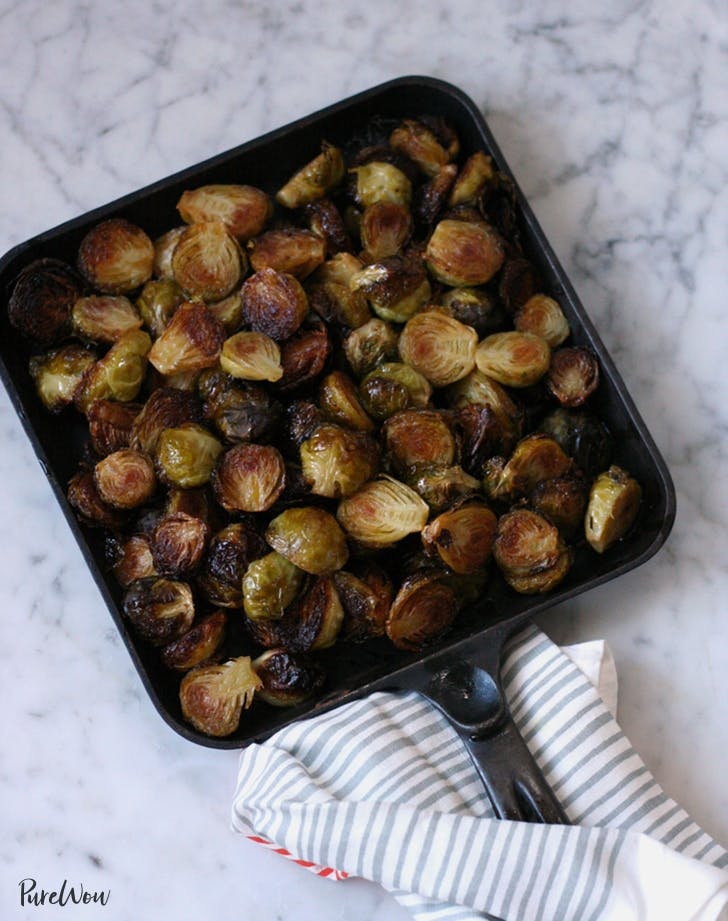 spicy roasted brussels sprouts recipe