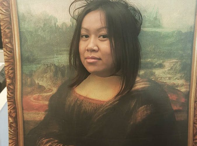 the mona lisa halloween costume