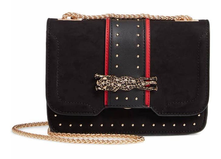 topshop black crossbody bag