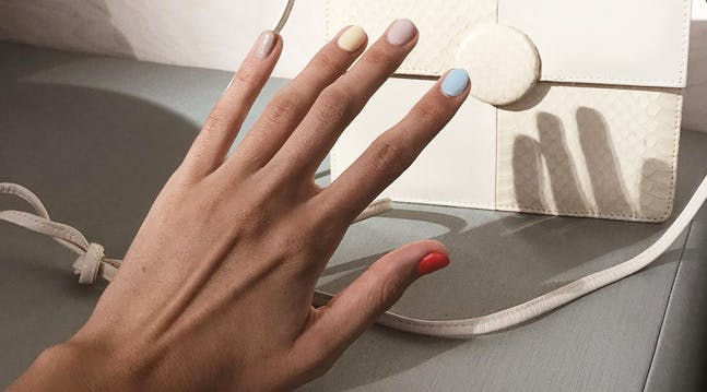 Always Have Trouble Picking a Color? Youll Love Wabi Sabi Nails