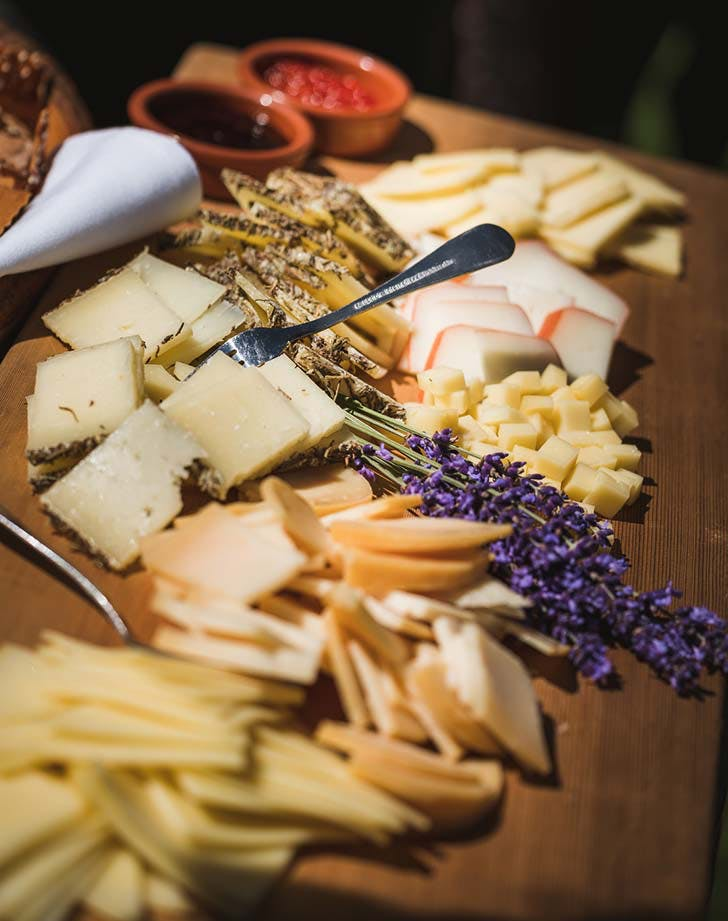 wedding snack cheese plate