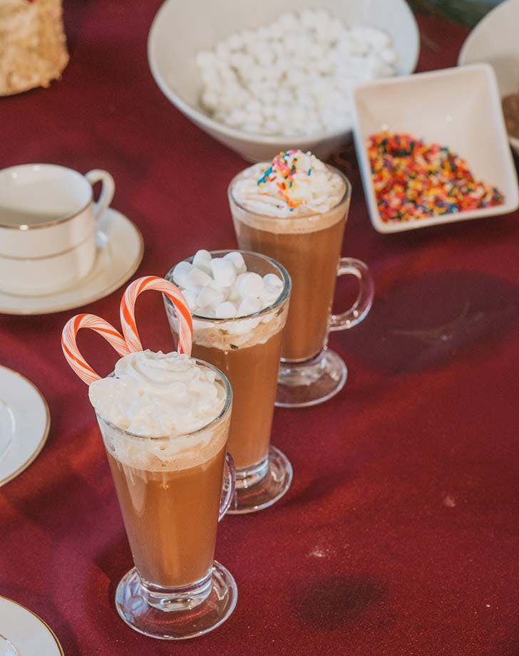 wedding snack hotcocoa