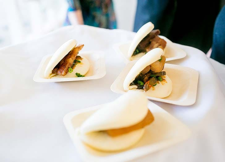 wedding snack porkbuns
