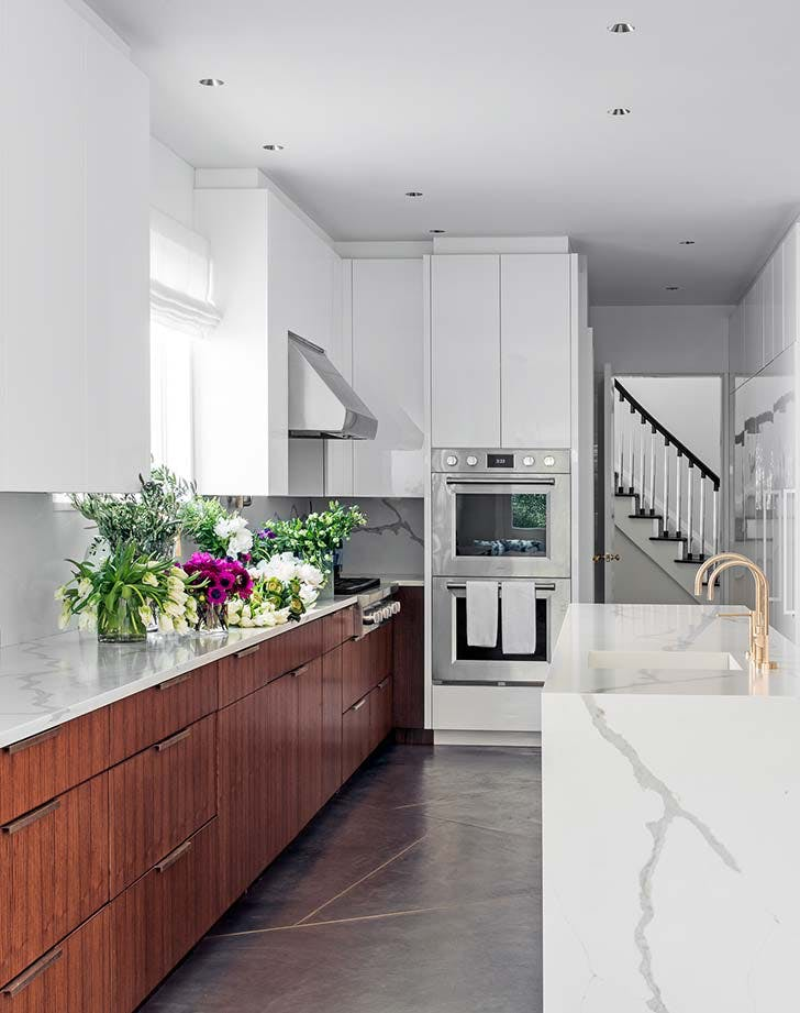 Two Tone Kitchen Cabinet Inspiration Purewow