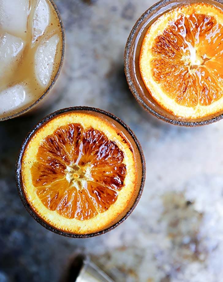 Apple Cider Bourbon Amaretto Cocktails 2 2