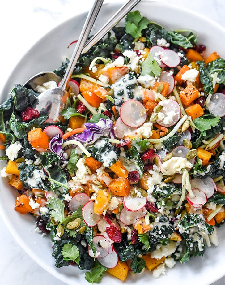 Chopped Mexican Kale Salad recipe