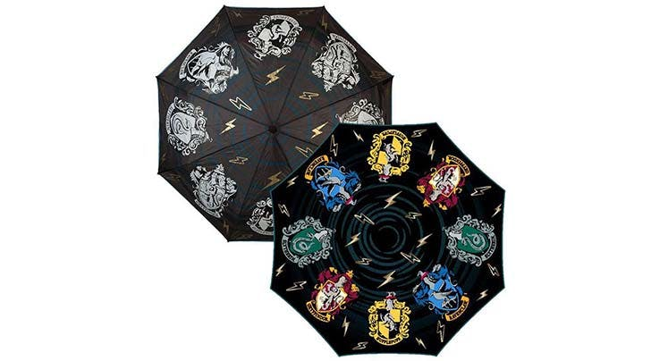 This Harry Potter Umbrella Magically Transforms in the Rain