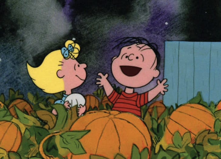 Its the great pumpkin charlie brown halloween movie