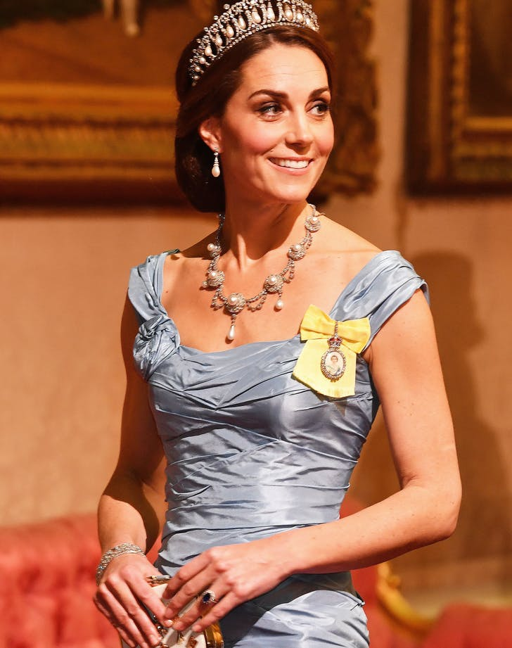 Kate Middleton Royal Order close up