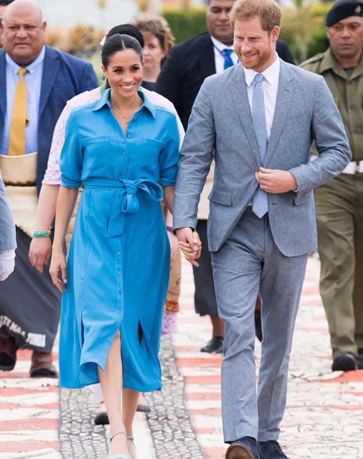 Meghan Markle Prince Harry Veronica Beard dress